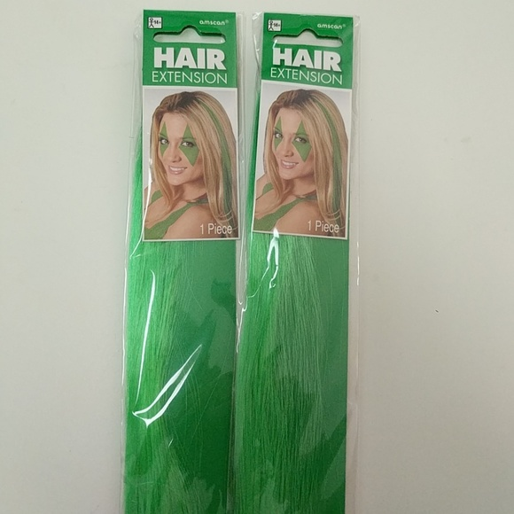 Amscan Accessories Free With Purchase Green Clip In Hair